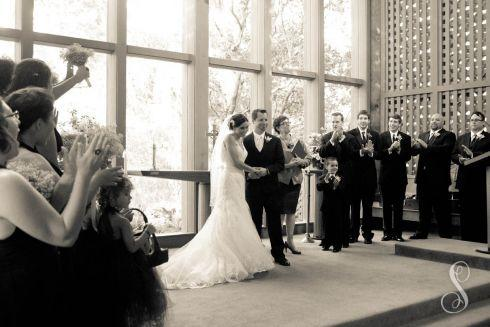 Carmel Valley Ranch Wedding | Shanti Duprez / Robert Lewis Stevenson Chapel / Mission Ranch / Kathryn Smith Flowers / Steve Ezzo & The Monterey Bay All-Stars / Cherie Cricchio / Main Event Transportation / Jinny's Bridal / Badgley Mischka / Von Vonni / Men's Wearhouse