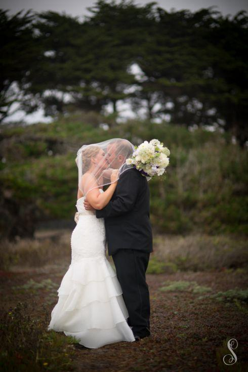 Wedding Portraits by Shanti Duprez / IDES Hall Half Moon Bay / Cheat a Little Catering / Alena Jean Flower Shop /  Coastside Lutheran Church / San Benito House