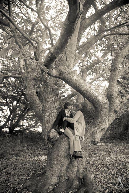 Shanti Duprez / Portraits by Shanti / LGBT Wedding Engagement / Half Moon Bay / Lesbian Engagement / Lesbian Wedding / Gay Wedding / Cypress Trees / Enchanted Forest / Mavericks / Alternative Engagement / Alternative Wedding / Same Sex Couple Photography / Equal Rights