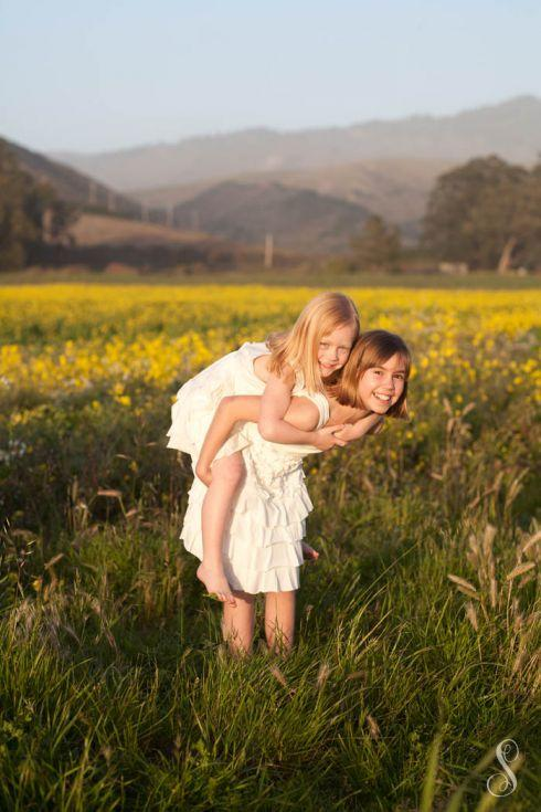 Portraits by Shanti / Shanti Duprez / Spring / Flower Field Photography / Mustard Flowers / Country / Family / Baby / Sibling / Half Moon Bay