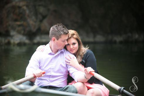 Portraits by Shanti / Shanti Duprez / Engagement Photography / Stowe Lake / Golden Gate Park / San Francisco / Paddle Boat