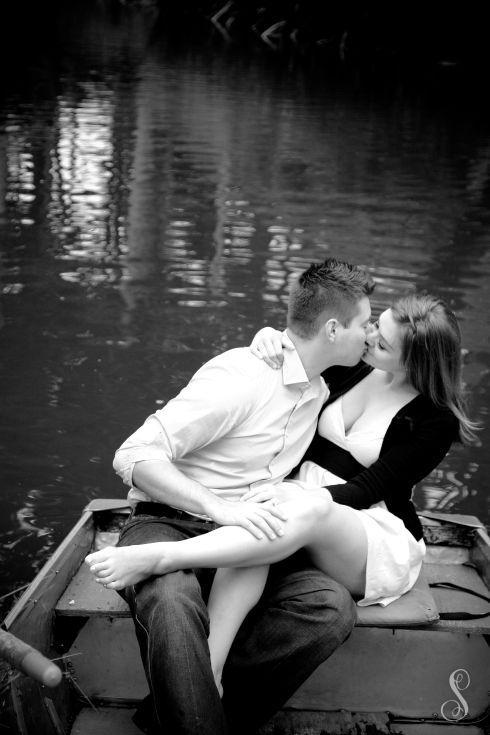 Portraits by Shanti / Shanti Duprez / Engagement Photography / Stowe Lake / Golden Gate Park / San Francisco / Paddle Boat