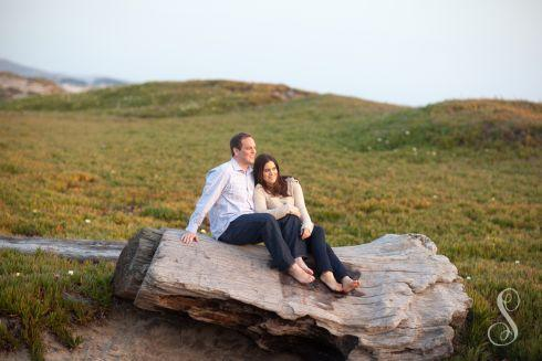 Portraits by Shanti / Shanti Duprez / Half Moon Bay / Miramar Beach / Country Engagement / San Francisco