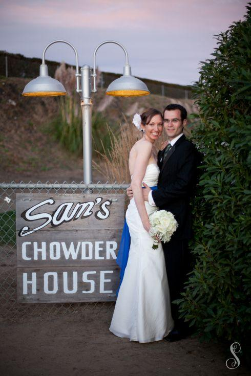 Portraits by Shanti / Shanti Duprez / Half Moon Bay / Sam's Chowder House Wedding /  Nastasha Verkest  / Tave Weddings and Events / Reply by Design Studio / Bridal Shop Citrus Heights / Ralph Lauren /  The Bridal Box / Men's Wearhouse / Beach Wedding / El Granada / Princeton by the Sea