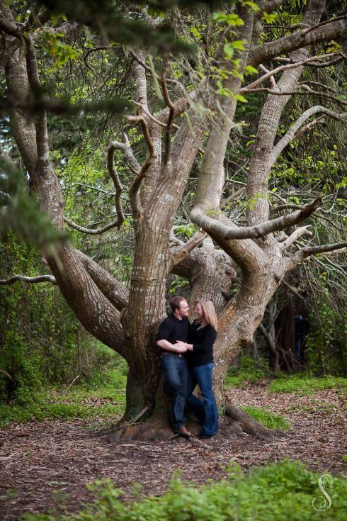 Portraits by Shanti / Shanti Duprez / Engagement / Enchanted Forest / Fitzgerald Marine Reserve